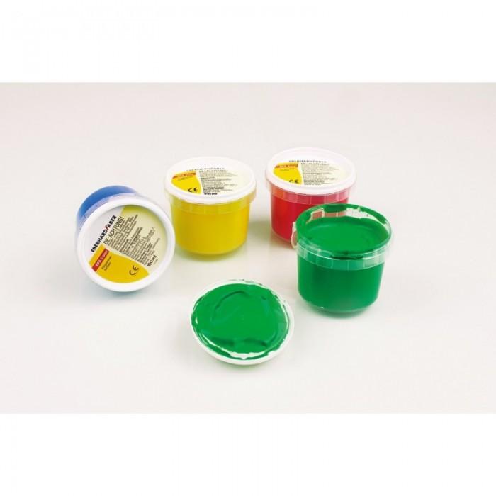 Faber-Castell Пальчиковые краски 4 пластиковые баночки по 100 мл