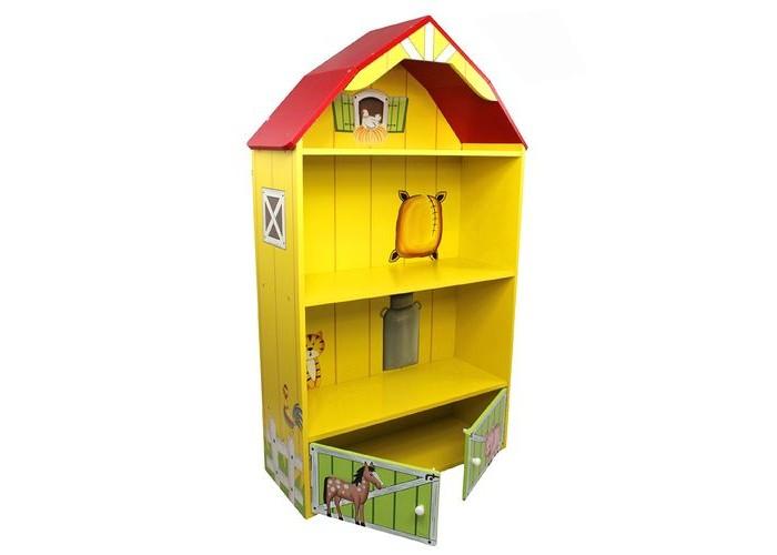 Ролевые игры Kids4kids Кукольный домик из дерева Моя большая ферма с загоном для лошадей игрушка для животных каскад барабан с колокольчиком 4 х 4 х 4 см
