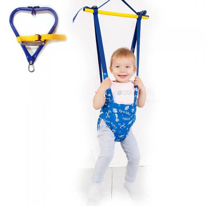 Детская мебель , Прыгунки Спортбэби VIP c зацепом арт: 310059 -  Прыгунки