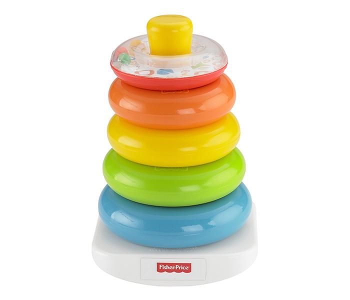 Развивающие игрушки Fisher Price Mattel Пирамидка Rock-a-Stack развивающие коврики fisher price mattel 3 в 1 розовые джунгли
