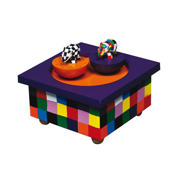 Шкатулки Trousselier Музыкальная шкатулка Wooden Box Elmer trousselier музыкальная мини шарманка elmer© trousselier