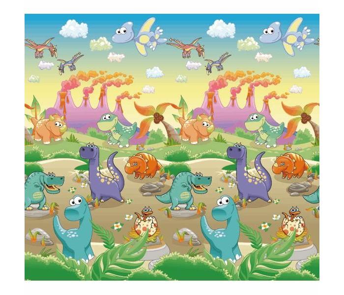 Игровой коврик BabyPol Дино лэнд 200х180х0.5 смДино лэнд 200х180х0.5 смИгровой коврик BabyPol Дино лэнд 200х180х0.5  Напольное покрытие для малыша - это его личное пространство для игр.   Детские коврики BabyPol – это настоящее удовольствие для ребенка и лучший помощник в развитии малыша, что по достоинству оценит каждая мама.  А связано это с тем, что они: Коврики BabyPol теплые, а значит, не придется переживать, что во время игры малыш замерзнет. Коврики BabyPol просты в уходе, соответственно, не возникнет сложностей с тем, как его помыть, а главное – он не собирает пыль благодаря своему уникальному покрытию. Коврики BabyPol обладают широким набором возможностей, ввиду этого они прекрасно подойдут для развития детишек различных возрастов.  Коврик BabyPol для детской комнаты – незаменимая вещь, если Вы хотите наполнить каждый день жизни своего ребенка яркими красками, полезными открытиями и отменным настроением.   Не скользит (поверхность в рубчик). Не впитывает запахи. Не боится влаги. Можно оставлять малыша погулять без подгузника.  Напольное покрытие поставляется в сумке, для удобства транспортировки.<br>