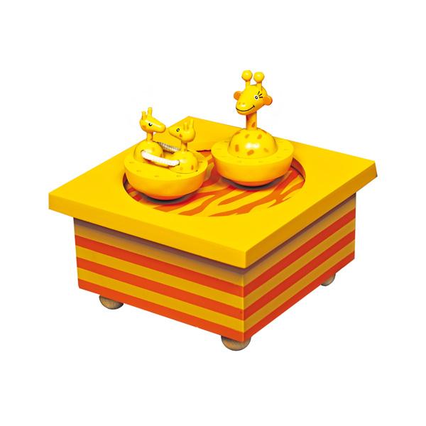 Детская мебель , Шкатулки Trousselier Музыкальная шкатулка Wooden Box Жираф арт: 31028 -  Шкатулки