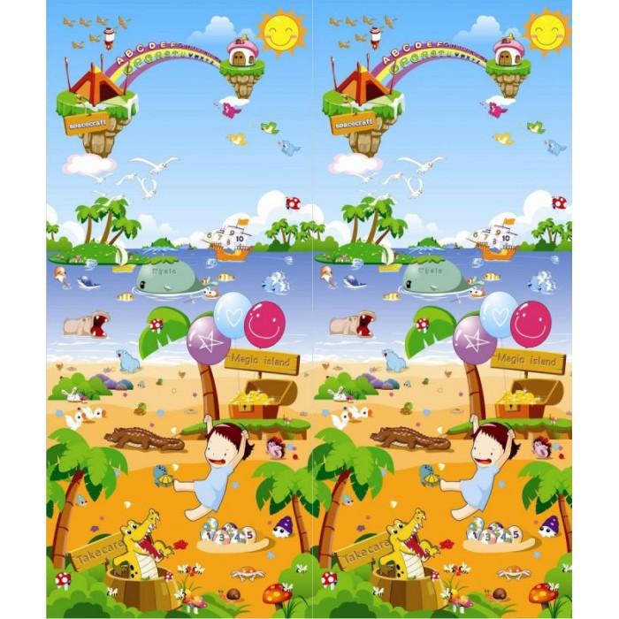 Игровой коврик BabyPol Морская прогулка 180х150х1 смМорская прогулка 180х150х1 смИгровой коврик BabyPol Морская прогулка 180х150х1  Напольное покрытие для малыша - это его личное пространство для игр.   Детские коврики BabyPol – это настоящее удовольствие для ребенка и лучший помощник в развитии малыша, что по достоинству оценит каждая мама.  А связано это с тем, что они: Коврики BabyPol теплые, а значит, не придется переживать, что во время игры малыш замерзнет. Коврики BabyPol просты в уходе, соответственно, не возникнет сложностей с тем, как его помыть, а главное – он не собирает пыль благодаря своему уникальному покрытию. Коврики BabyPol обладают широким набором возможностей, ввиду этого они прекрасно подойдут для развития детишек различных возрастов.  Коврик BabyPol для детской комнаты – незаменимая вещь, если Вы хотите наполнить каждый день жизни своего ребенка яркими красками, полезными открытиями и отменным настроением.   Не скользит (поверхность в рубчик). Не впитывает запахи. Не боится влаги. Можно оставлять малыша погулять без подгузника.  Напольное покрытие поставляется в рулоне.<br>