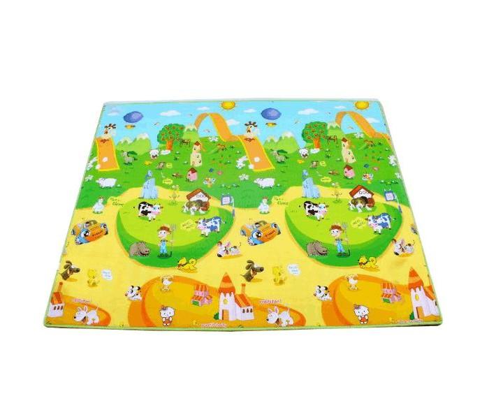 Игровой коврик BabyPol Веселая ферма 180х150х1 см