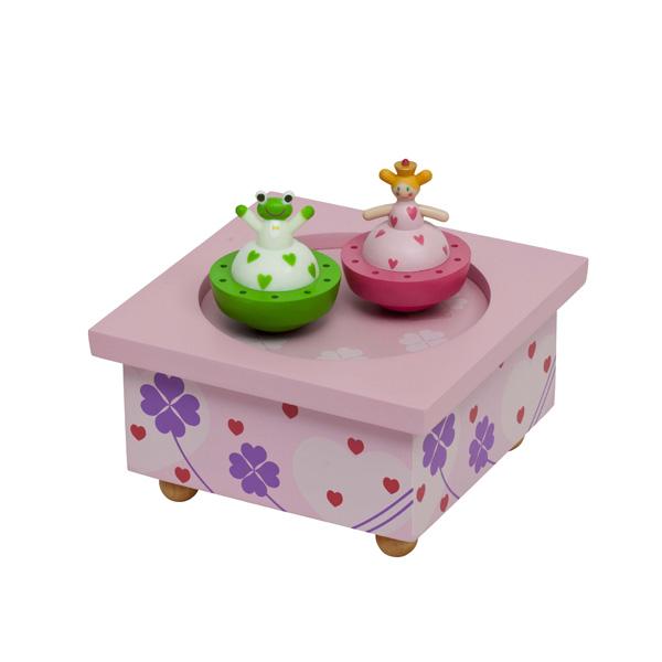 Детская мебель , Шкатулки Trousselier Музыкальная шкатулка Wooden Box Принцесса и лягушка арт: 31032 -  Шкатулки
