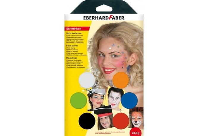 Faber-Castell Набор для аквагрима Музыканты 6 цветов кисточка