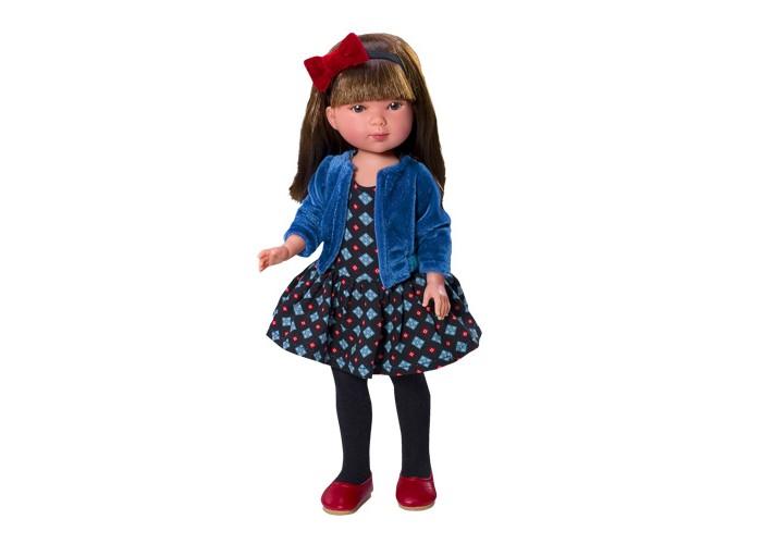 Куклы и одежда для кукол Vestida de Azul Карлотта брюнетка с челкой Актриса куклы и одежда для кукол vestida de azul оливия в розовом костюме 30 см