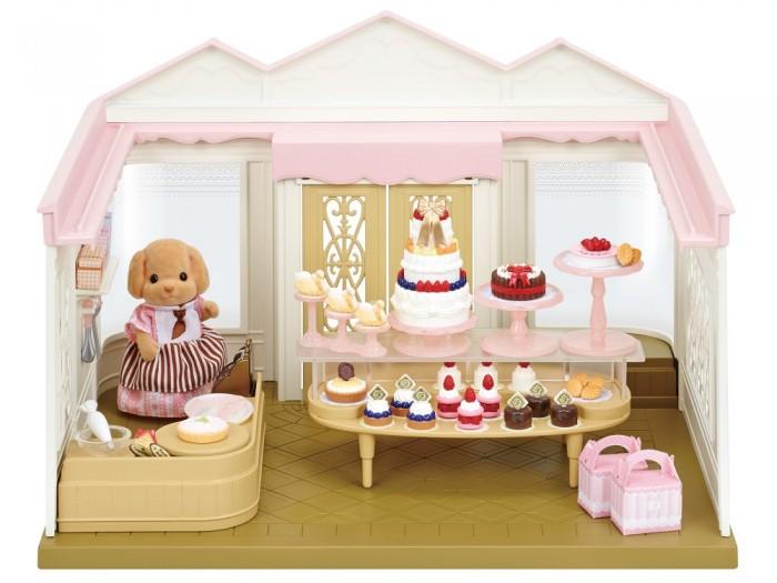 Кукольные домики и мебель Sylvanian Families Игровой набор Кондитерская в деревне кондитерская мастика купить в днепропетровске
