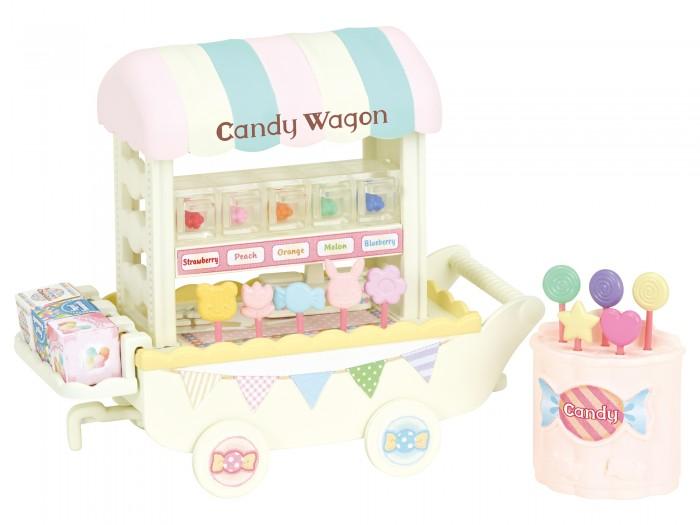 Купить Игровые наборы, Sylvanian Families Игровой набор Тележка со сладостями 5266
