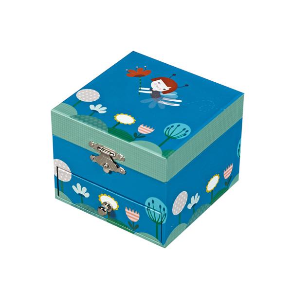 Детская мебель , Шкатулки Trousselier Музыкальная шкатулка-куб Ninon Fairy арт: 31064 -  Шкатулки