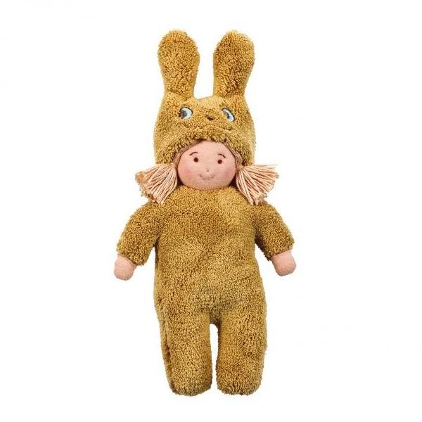 Куклы и одежда для кукол Trousselier Кукла Девочка в костюме кролика 22 см шкатулки trousselier музыкальная шкатулка wooden box девочка и панда