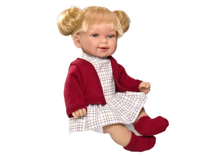 Куклы и одежда для кукол Vestida de Azul Кина блондинка с хвостиками Осень серия soft touch