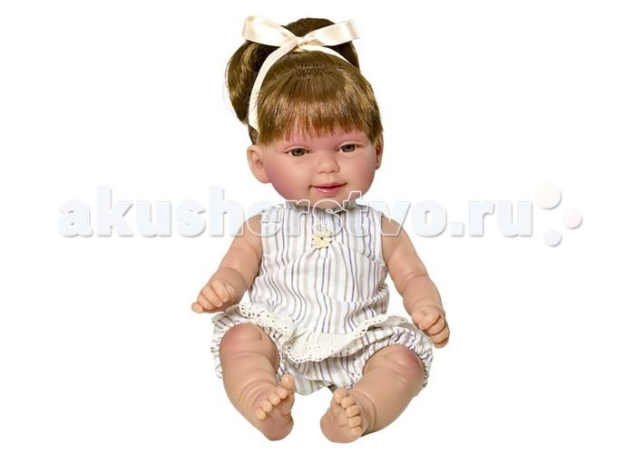 Куклы и одежда для кукол Vestida de Azul Кина брюнетка с хвостиками Лето серия soft touch