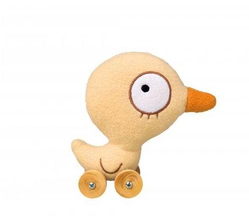 Мягкие игрушки Trousselier Утенок на колесиках, Мягкие игрушки - артикул:31127