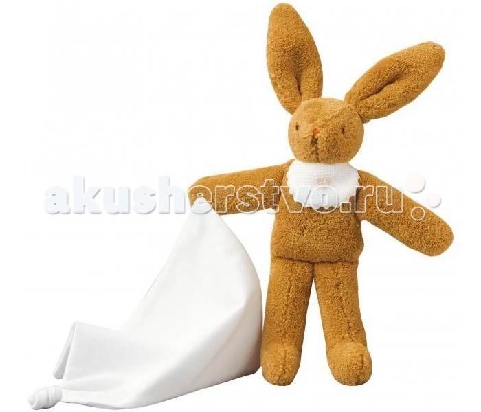 Мягкие игрушки Trousselier Зайка с платочком 20 см, Мягкие игрушки - артикул:31137