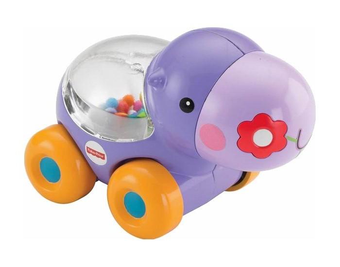 Каталка-игрушка Fisher Price Веселый бегемотик