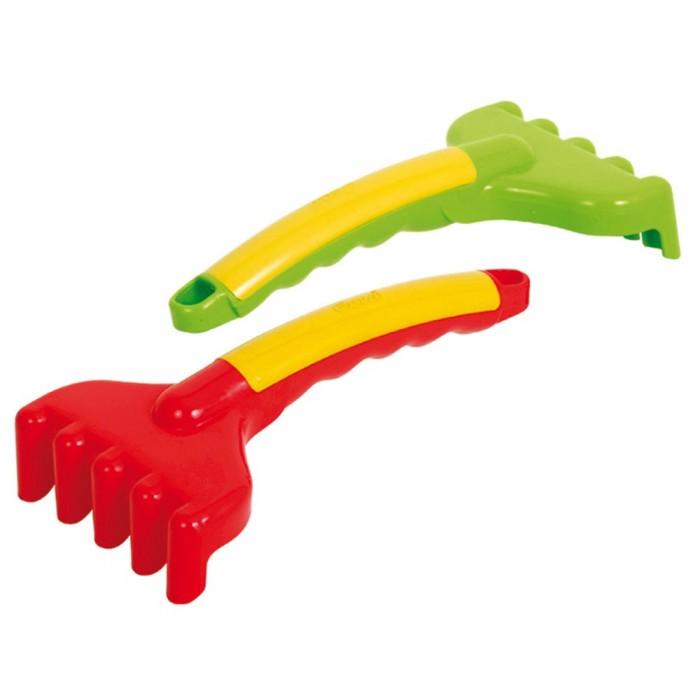 Игрушки в песочницу Gowi Игрушечные садовые грабли 19 см лопатки игрушечные quut грабли
