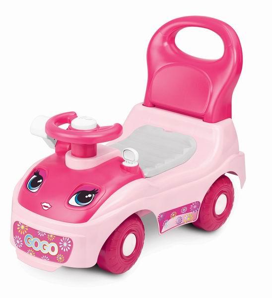 Каталка Weina ПринцессаПринцессаОтличная веселая машинка-каталка-ходунок Принцесса для девочек. Предназначена для детей от 12 до 36 месяцев.   Когда ребенок подрастет и начнет делать первые шаги, он будет сам толкать машинку сзади.  Также на машинку ребенок может сесть сверху и ехать, отталкиваясь ногами.   Под сиденьем предусмотрено отделение для игрушек.   Машинка-каталка поможет развить ребенку координацию движений и подарит много положительных эмоций.  Особенности: 3 в 1: ходунки, каталка, прогулочная машинка-коляска Багажник для игрушек под сиденьем Удобная ручка для толкания Можно кататься как дома, так и на улице Изделие выполнено из высококачественного ударопрочного пластика<br>