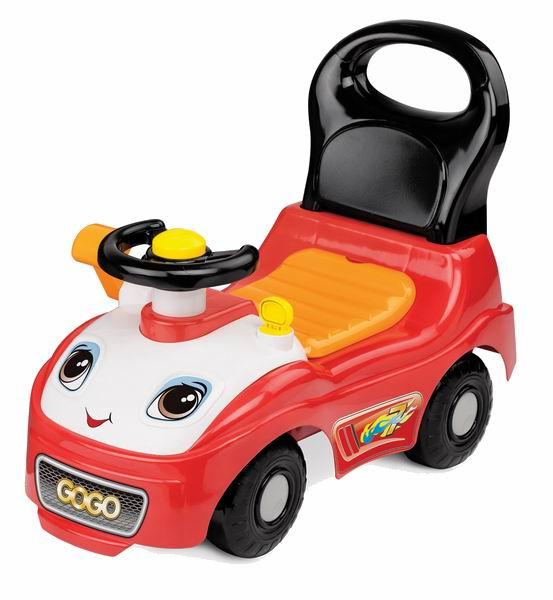 Каталка Weina ПринцПринцОтличная веселая машинка-каталка-ходунок Принц для мальчиков. Предназначена для детей от 12 до 36 месяцев.   Когда ребенок подрастет и начнет делать первые шаги, он будет сам толкать машинку сзади.  Также на машинку ребенок может сесть сверху и ехать, отталкиваясь ногами.   Под сиденьем предусмотрено отделение для игрушек.   Машинка-каталка поможет развить ребенку координацию движений и подарит много положительных эмоций.  Особенности: 3 в 1: ходунки, каталка, прогулочная машинка-коляска Багажник для игрушек под сиденьем Удобная ручка для толкания Можно кататься как дома, так и на улице Изделие выполнено из высококачественного ударопрочного пластика<br>
