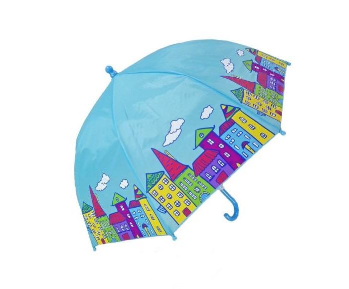 Детские зонтики Mary Poppins Домики 46 см зонт детский mary poppins домики 46 см