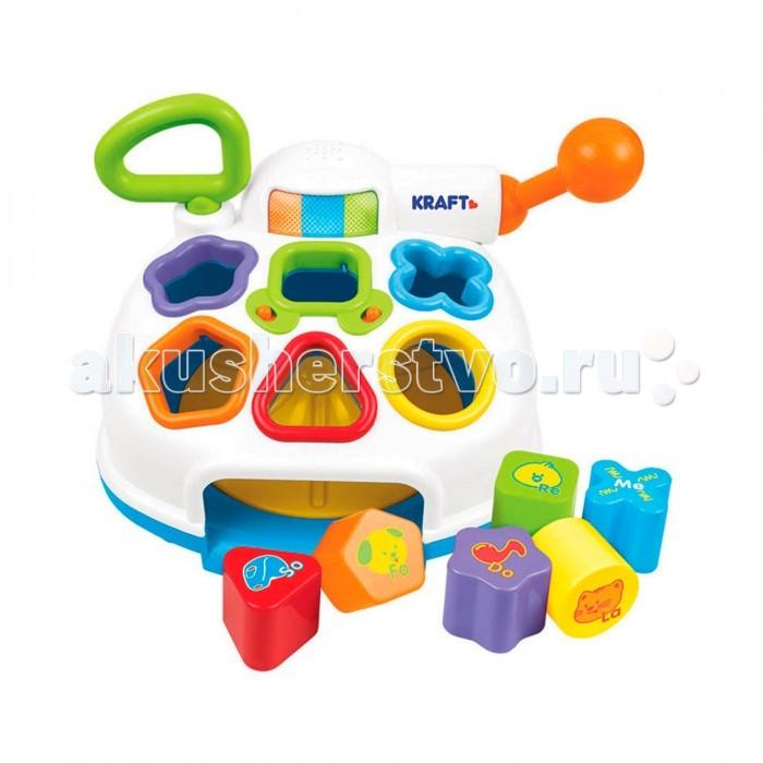 Сортер Weina музыкальныймузыкальныйОтличная игрушка для развития мелкой моторики, точности и силы рук.   В сортере есть отверстия, в которые малышу нужно подобрать правильные фигурки.   Если ребенок успешно справился с заданием, зазвучит веселая мелодия. Также в сортере есть мигающие лампочки.   Сортер изготовлен из прочного, качественного пластика, не имеет острых элементов и безопасен для ребенка.   Отличная игрушка, которая станет замечательным подарком для вашего малыша.  Особенности: Многофункциональный развивающий сортер Правильно вложенная фигурка активирует мелодию Звуковые и световые эффекты Батарейки: 2 шт. типа АА (входят в комплект)<br>
