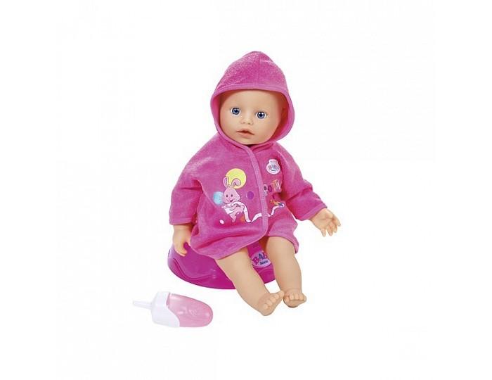 Куклы и одежда для кукол Zapf Creation my little Baby born Кукла с горшком и бутылочкой 32см 823-460 нтм кукла пупс с бутылочкой и соской