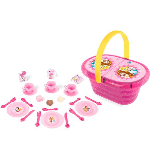 Smoby Набор посуды в корзинке Принцессы Диснея