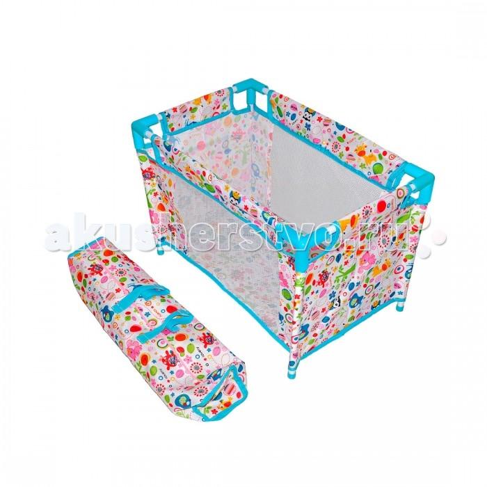 Кроватки для кукол, Кроватка для куклы Mary Poppins Фантазия разборная  - купить со скидкой