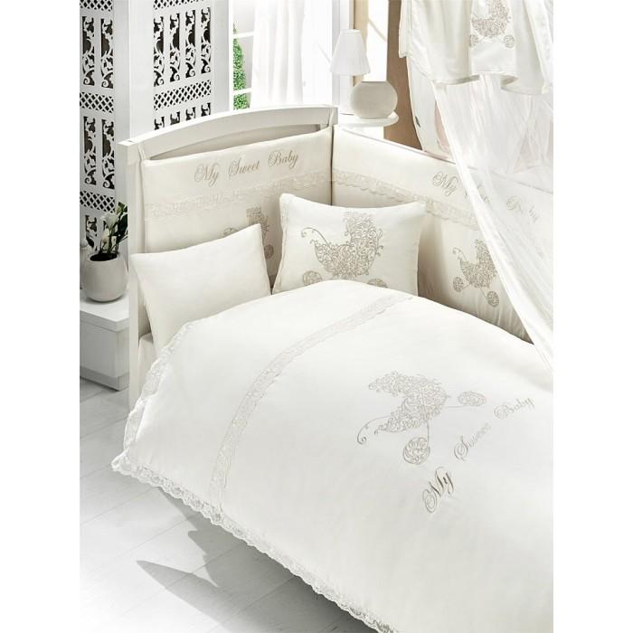 Постельные принадлежности , Комплекты в кроватку Bebe Luvicci My Sweet Baby (6 предметов) арт: 31319 -  Комплекты в кроватку
