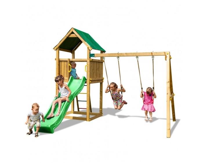 Paremo Игровой набор для детской площадки PS217-01Игровой набор для детской площадки PS217-01Paremo Игровой набор для детской площадки PS217-01 идеальное решение для небольшого сада.   Детская игровая деревянная площадка на 7 мест: домик с песочницей, крышей, горкой и двумя качелями.  Размер площадки: 105 х 105 см Высота платформы: 125 см Длина скольжения: 2.2 м Максимальное количество играющих: 6 человек Составляющие части: горка 2,2 м, крепления к земле, ручки, лестница с металлическими ступеньками, водонепроницаемая синтетическая крыша, набор древесных и металлических соединений, набор монтажных инструментов, пошаговая инструкция по сборке с инструкцией по технике безопасности, камни для скалодрома, две качели, крючки для качелей  Вес: 141 кг Материалы: дерево Размеры (габариты): 319 x 329 x 265 см<br>
