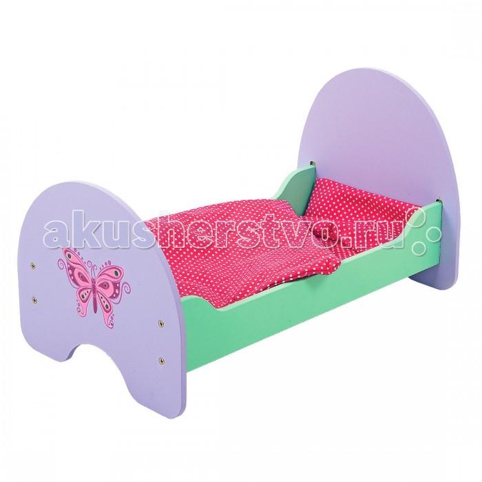 Кроватки для кукол Mary Poppins Бабочка деревянная