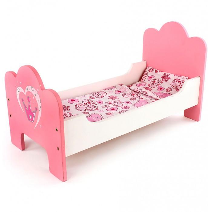 Кроватка для куклы Mary Poppins Корона деревянная