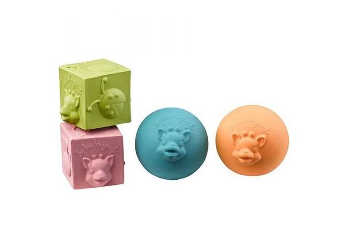 Мячики и прыгуны Vulli Игрушки Набор (мячики, кубики) логические игрушки