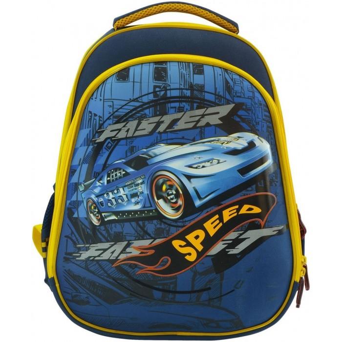 Развитие и школа , Школьные рюкзаки Action Рюкзак школьный с рельефной спинкой арт: 313379 -  Школьные рюкзаки
