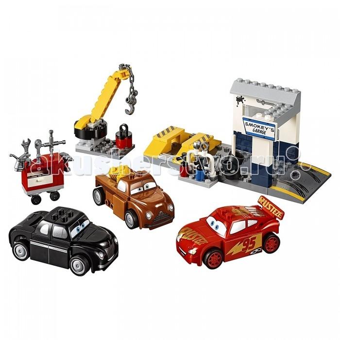 Lego Lego Джуниорс Гараж Смоуки 116 элементов комплект шнуров для диагностики авто
