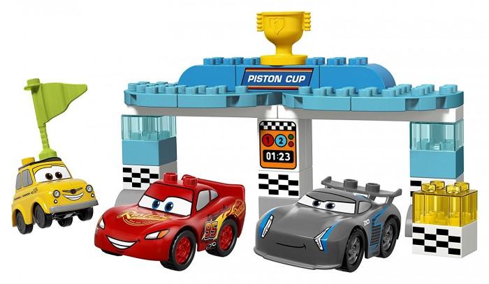 Купить Конструктор Lego Дупло Гонка за Кубок Поршня 31 элемент