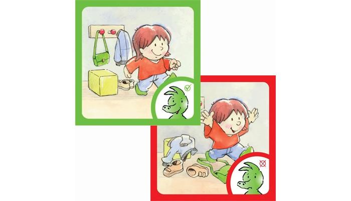Развивающие игрушки Beleduc Верно - неверно развивающие игрушки beleduc веселый крокодильчик