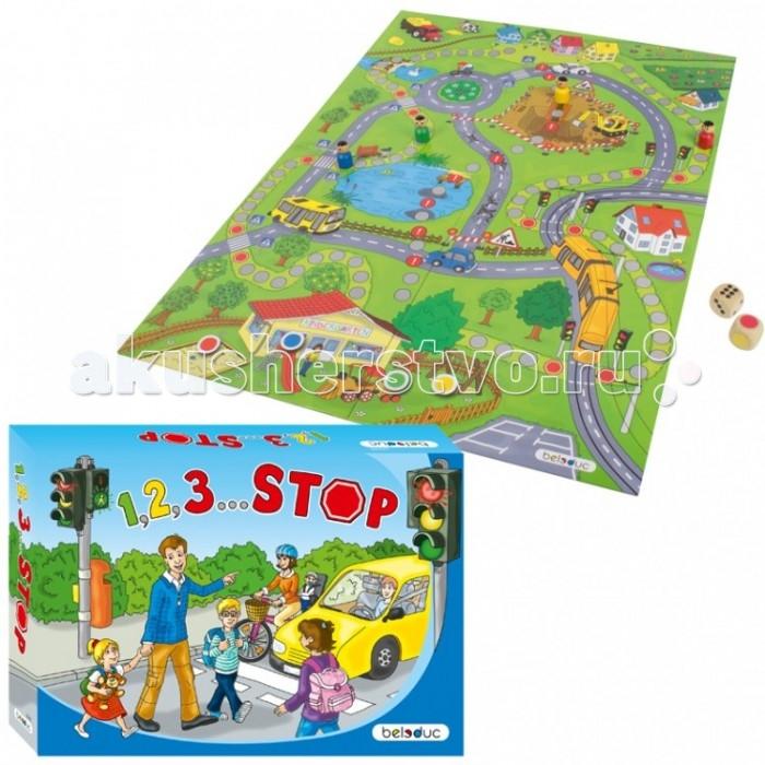 Развивающие игрушки Beleduc 1,2,3 ... СТОП развивающие игрушки beleduc веселый крокодильчик