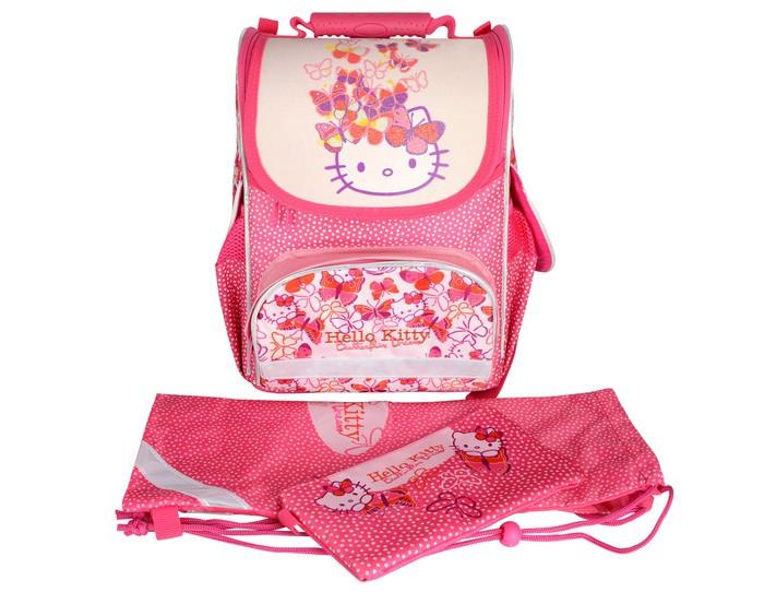 Купить Школьные рюкзаки, Action Hello Kitty Набор Ранец школьный (3 предмета)