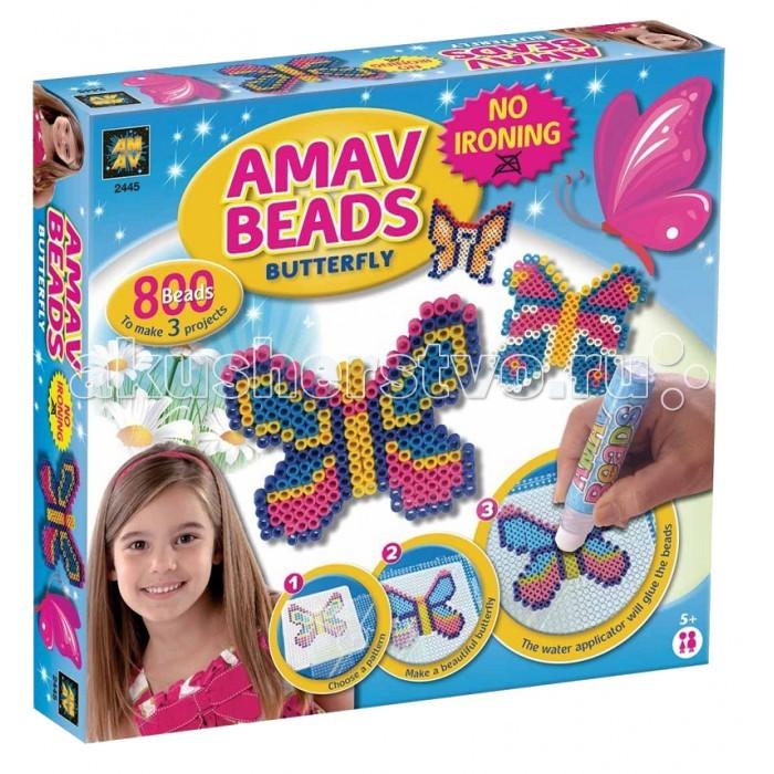 Наборы для творчества AMAV (Diamant) Набор Бабочки мозаика amav diamant мозаика собака