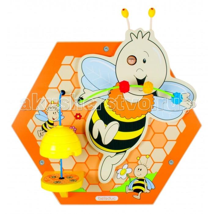 Картинка для Деревянная игрушка Beleduc Настенный игровой элемент Пчелы. Пчёлка