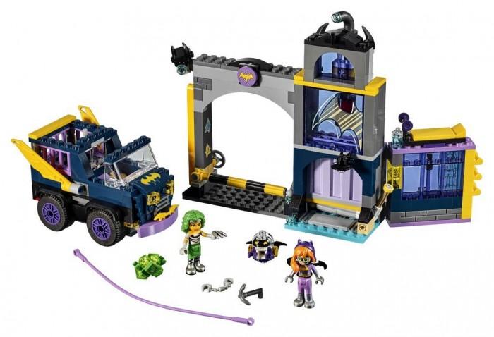 Lego Lego Супергёрлз Бэтгёрл Секретный бункер Бэтгёрл 351 элемент приемный бункер с питателем для руды
