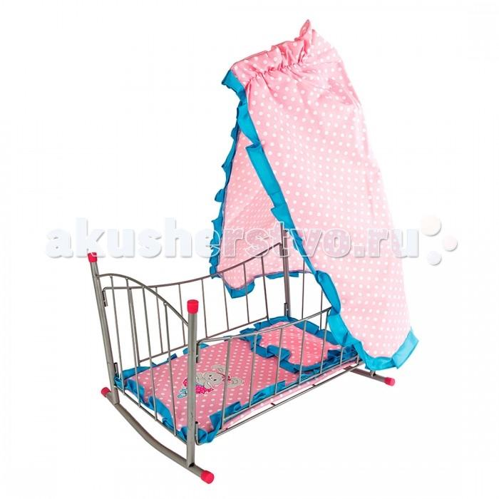 Кроватки для кукол Mary Poppins Зайка с балдахином