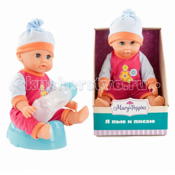 Куклы и одежда для кукол Mary Poppins Кукла Минни пьет и писает 451141 mary poppins одежда для куклы 42 см боди mary poppins в ассортименте