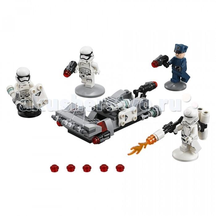 Lego Lego Звездные войны Спидер Первого ордена 117 элементов lego star wars 75166 лего звездные войны спидер первого ордена