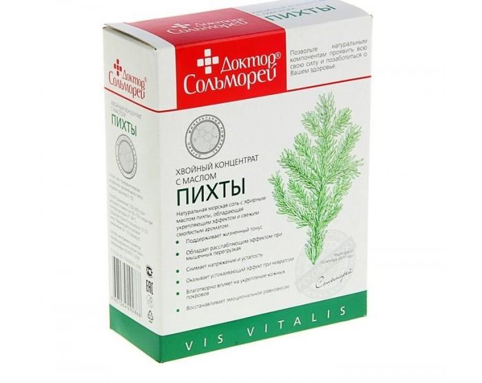 Соли и травы для купания Доктор Сольморей Хвойный концентрат с маслом пихты 900 г саженцы пихты в москве