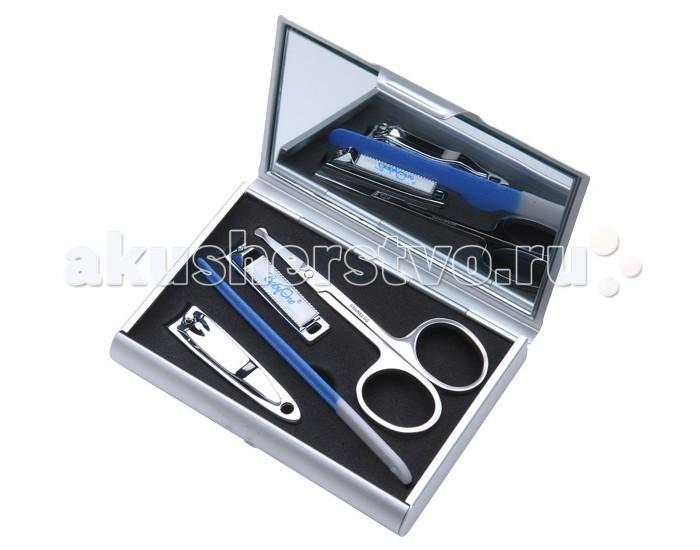 Уход за малышом BabyOno Косметический набор в упаковке с зеркальцем пилочка для ногтей leslie store 10 4sides 10pcs lot