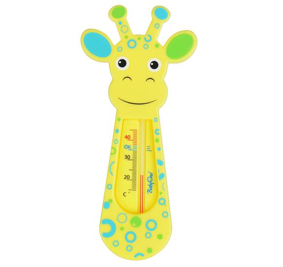 детские термометры Термометры для воды BabyOno Жираф желтый