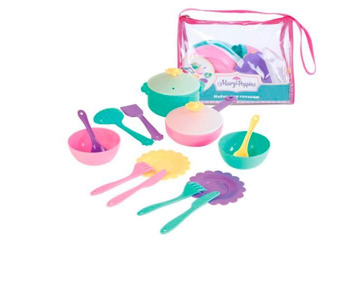 Ролевые игры Mary Poppins Набор для готовки Бабочка 16 предметов футболка твое твое tv001emues32
